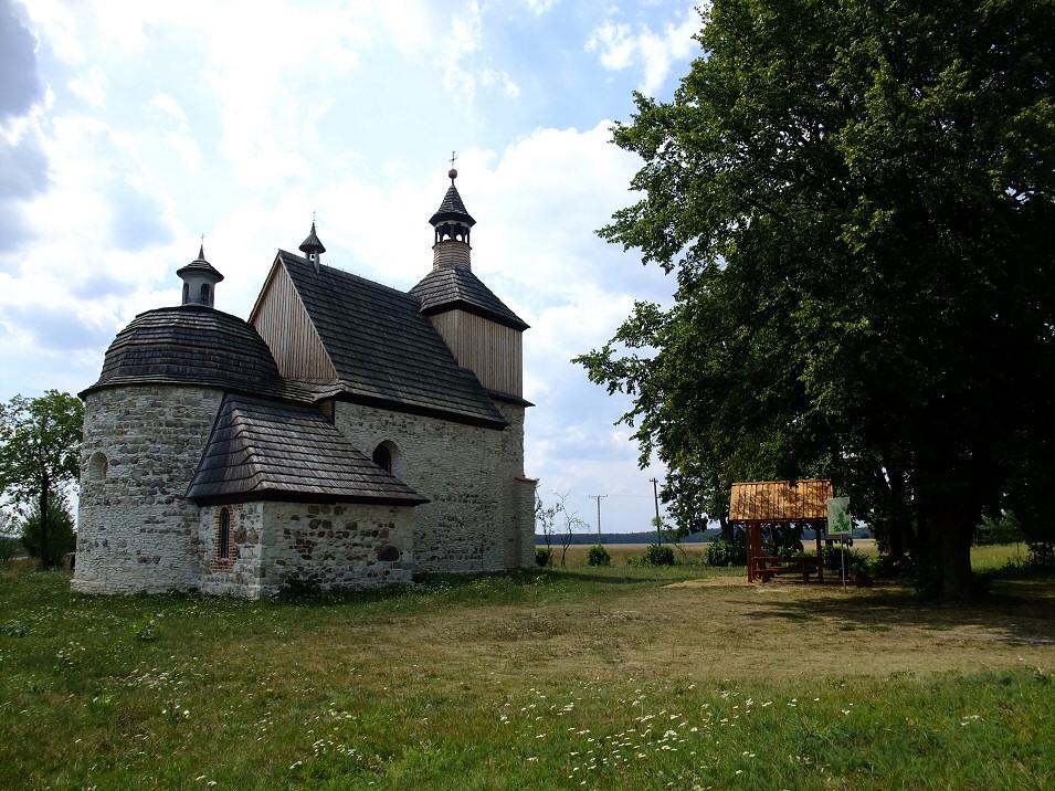 kościół p.w. św Mikołaja w Przyrowie