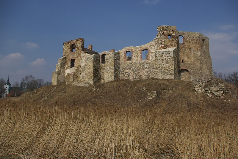 Zamek biskupów krakowskich w Siewierzu