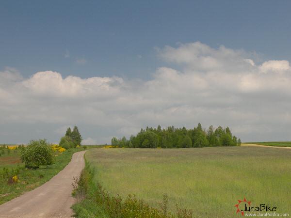 widok na Góry Gorzkowskie