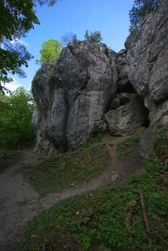 Skałki Kroczyckie, Góra Zborów
