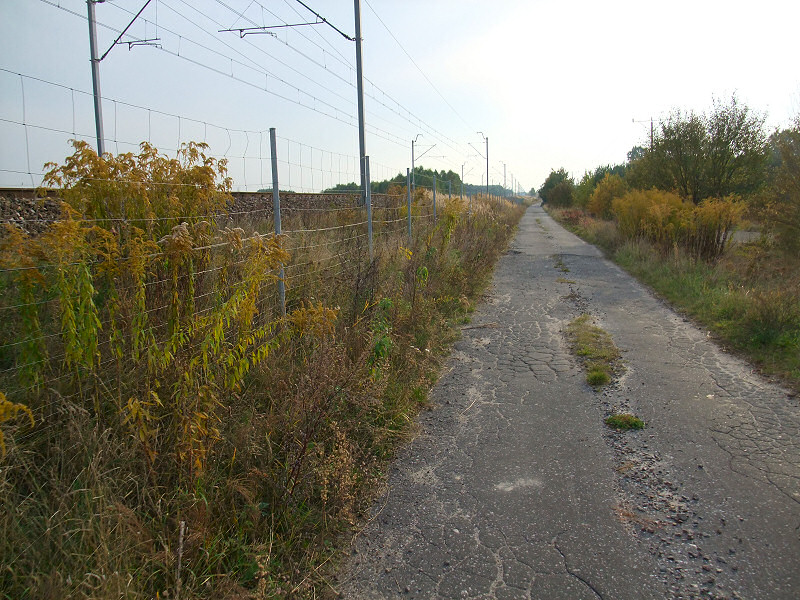 Droga wzdłuż CMK