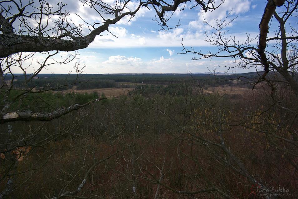 Widok ze Wzgórza Wilkomija