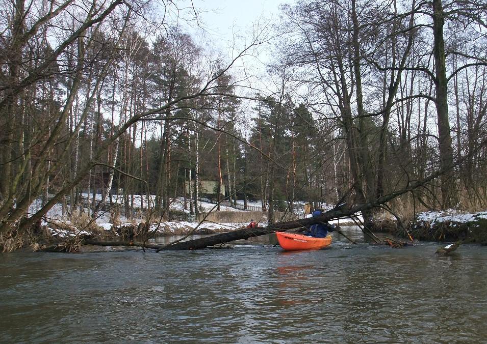 zimowy spływ kajakowy Pilicą, JuraPolska.com