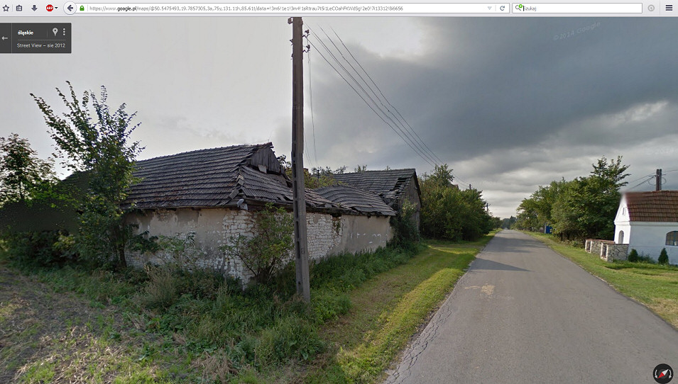 Jeziorowice, Dolina Żebrówki
