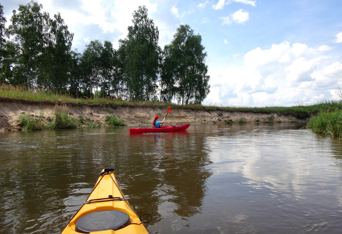 KajakiemPoPilicy.pl - spływ kajakowy Pilicą od Przyłęku do Łysakowa