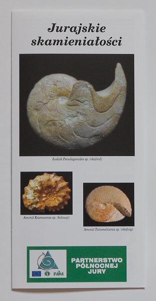 Jurajskie skamieniałości - forder PPJ