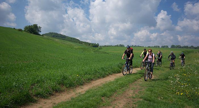Wycieczki rowerowe po Jurze